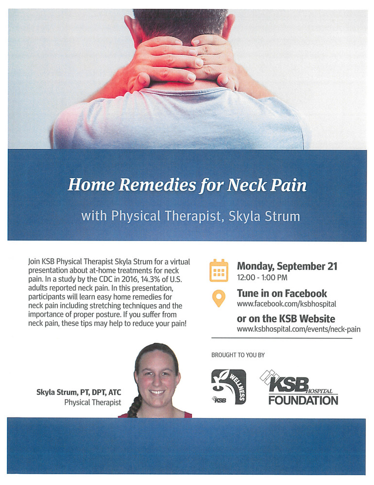 Homes Remedies for Neck Pain Presentation
