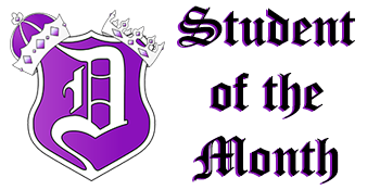 Dixon High School Students of the Month