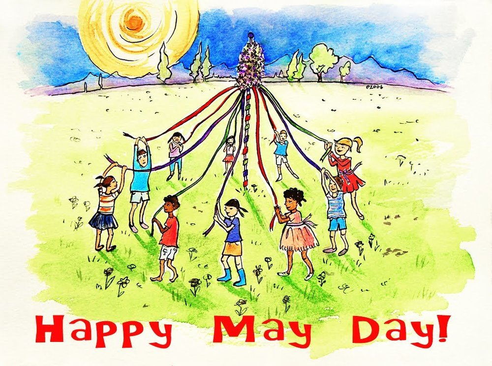 Mrs. W. May Day message