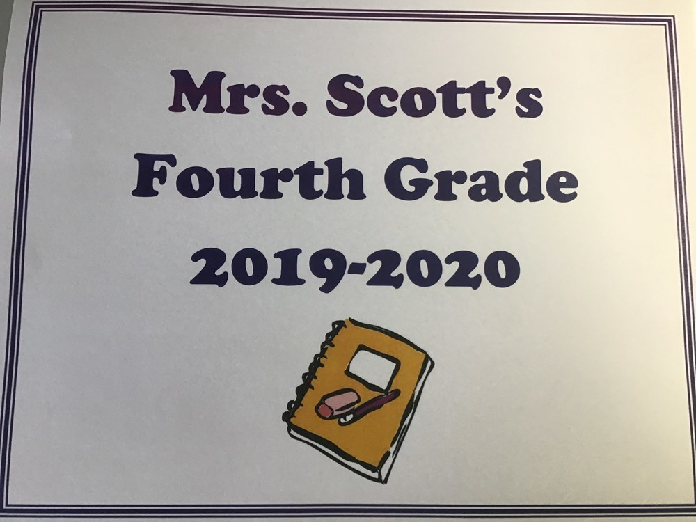 Mrs. Scott's 4th Grade Video 2019-2020