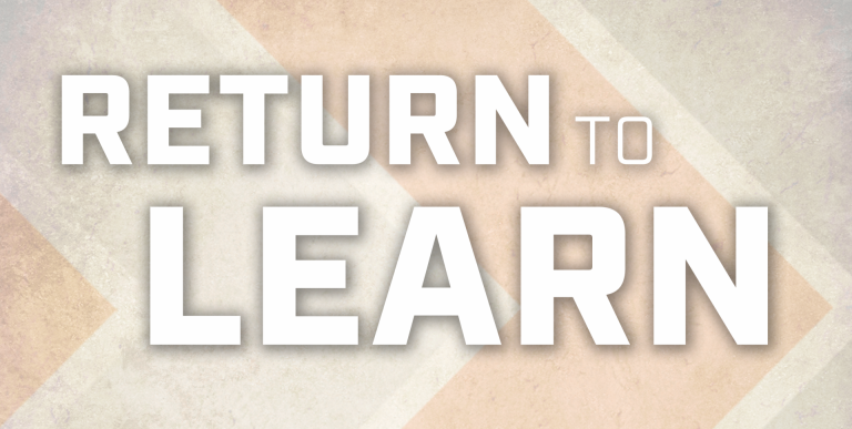 Return to Learn Plans