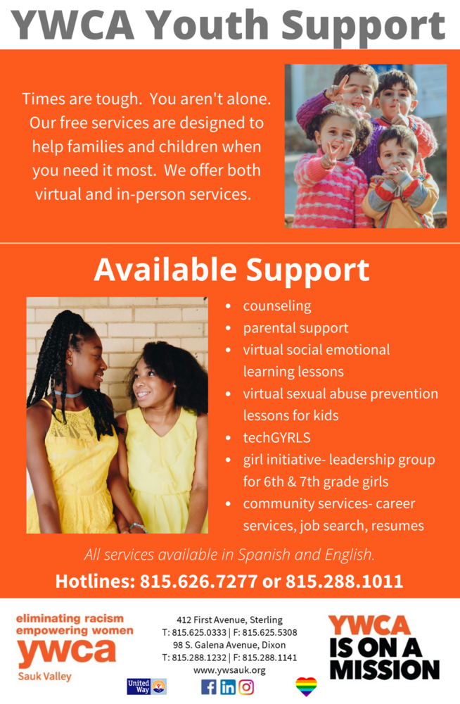 YWCA Youth Support