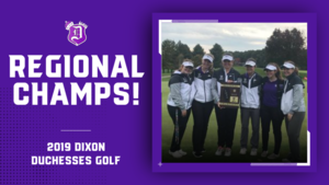Girls' Golf Regional Champions!