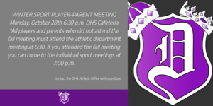 DHS Winter Sport Meetings