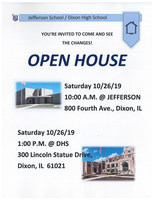 Jefferson/DHS Construction Open Houses