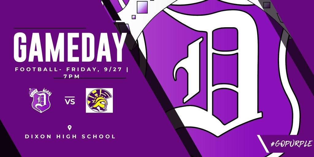 Gameday graphic for 9-27-2019