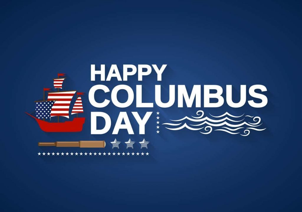 Columbus Day 2019 Graphic