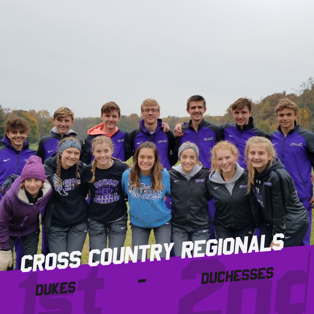 Dukes finish 1st, Duchesses finish 2nd. Brock D & Paige S are Individual Champs!
