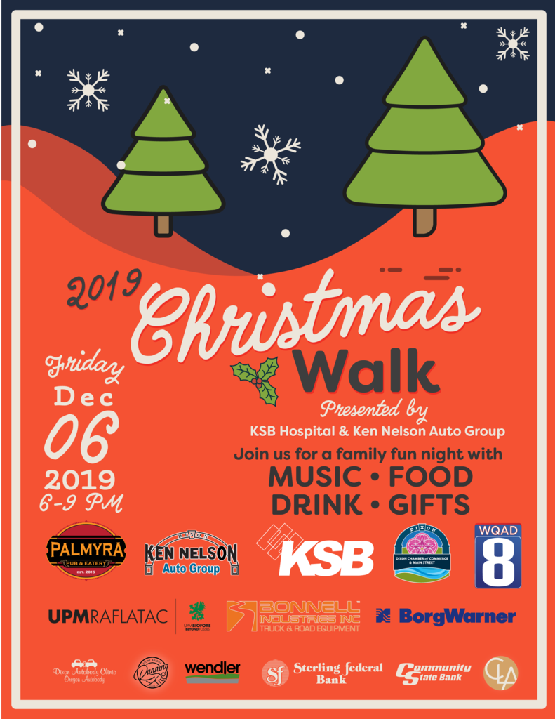 2019 Christmas Walk flyer page 1