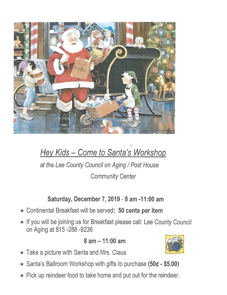Santa's Workshop Flyer