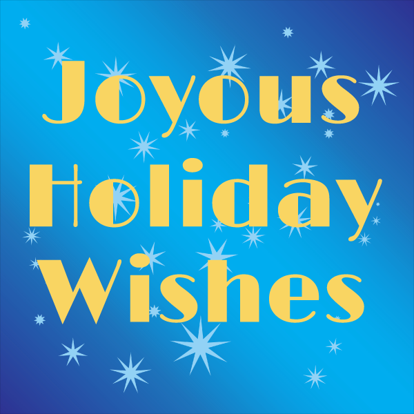 Joyous Holiday Wishes graphic
