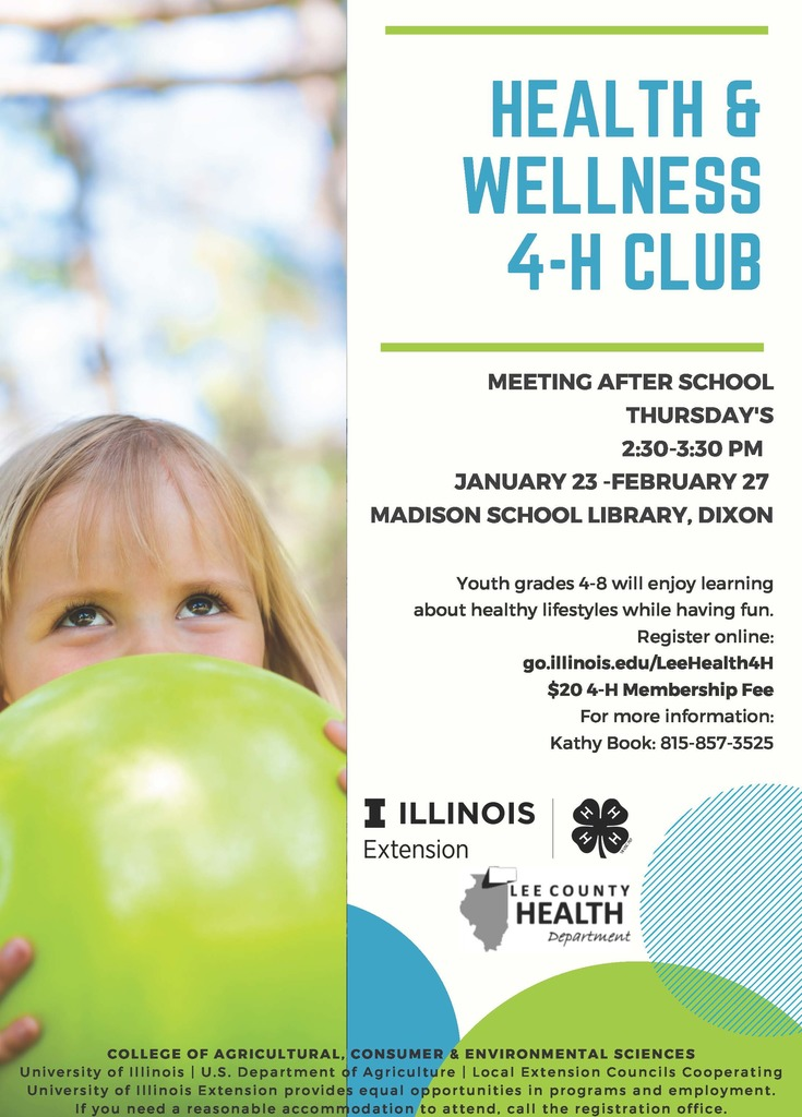 4-H Wellness Flyer