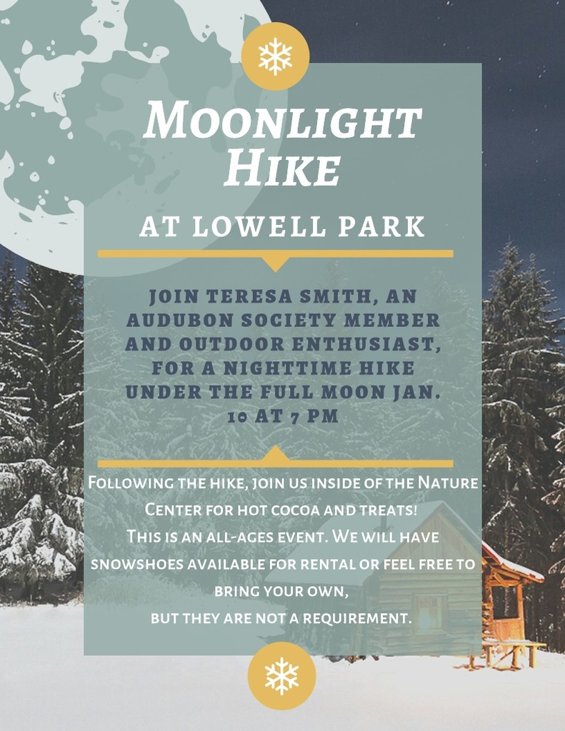 Moonlight Hike flyer