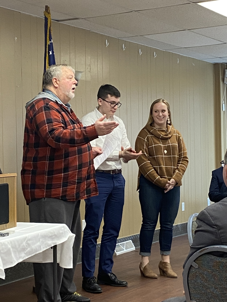 DHS Students at Dixon Rotary