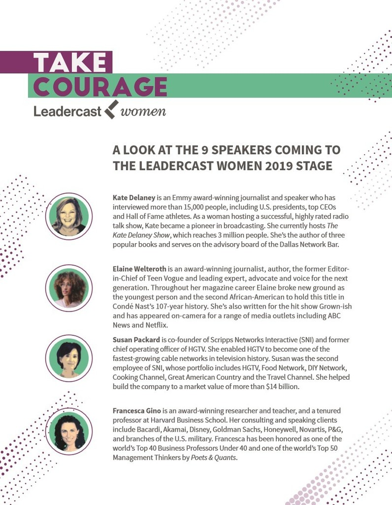 Leadercast List page1