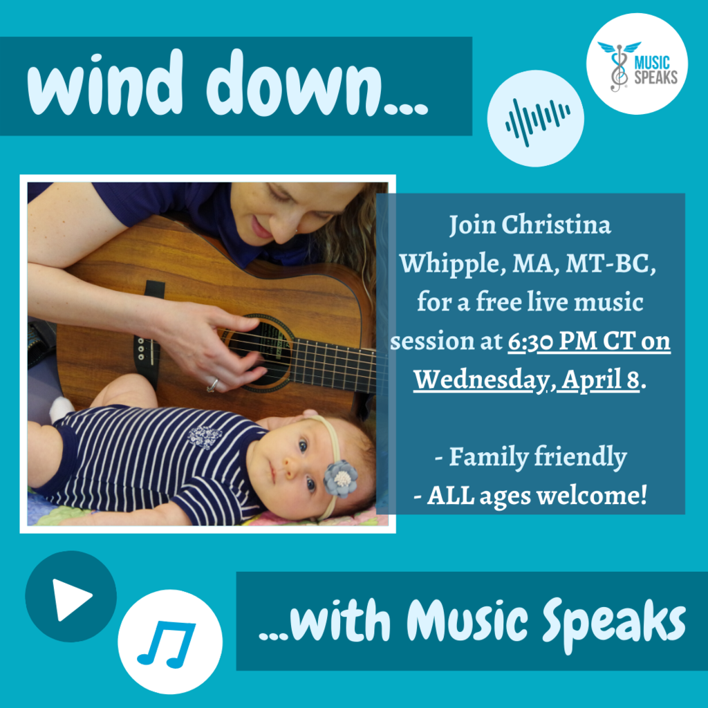 Wind Down with Music Flyer