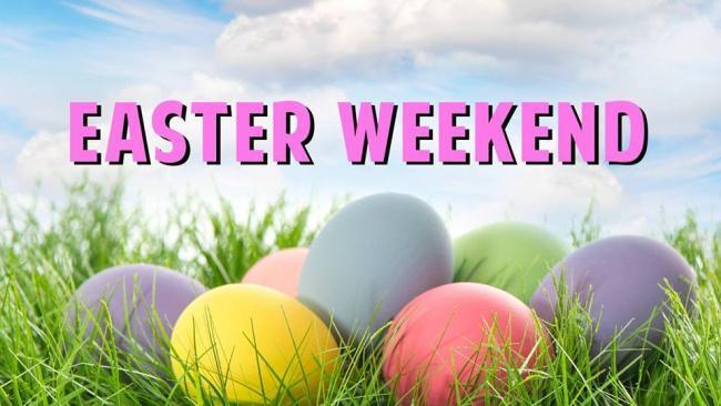 Easter Weekend graphic