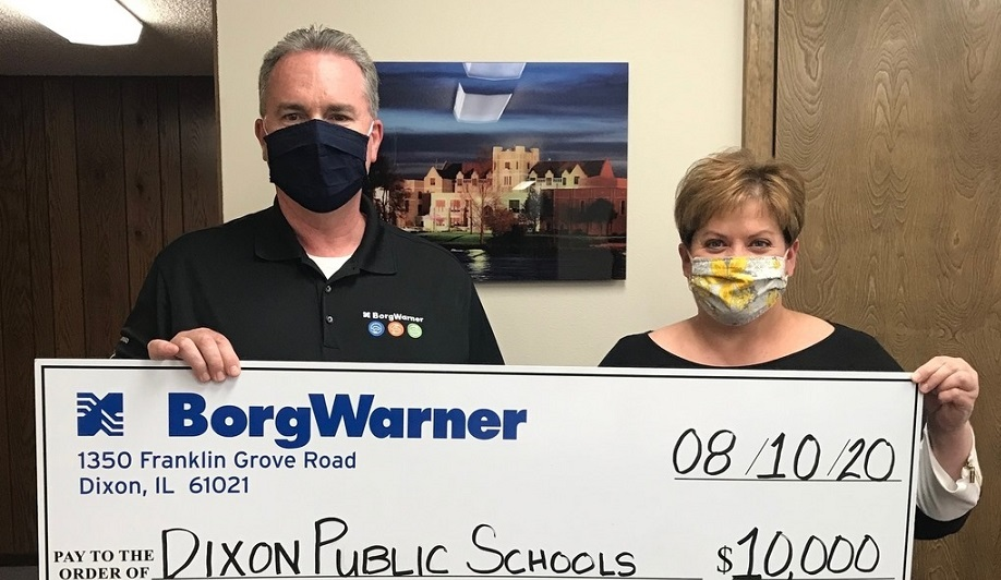 $10,000 Donation from BorgWarner